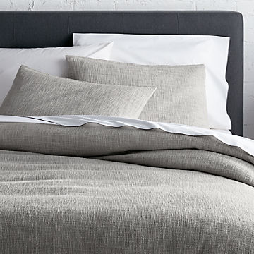 Duvet Covers & Duvet Inserts | Ships for Free | Crate and Barrel