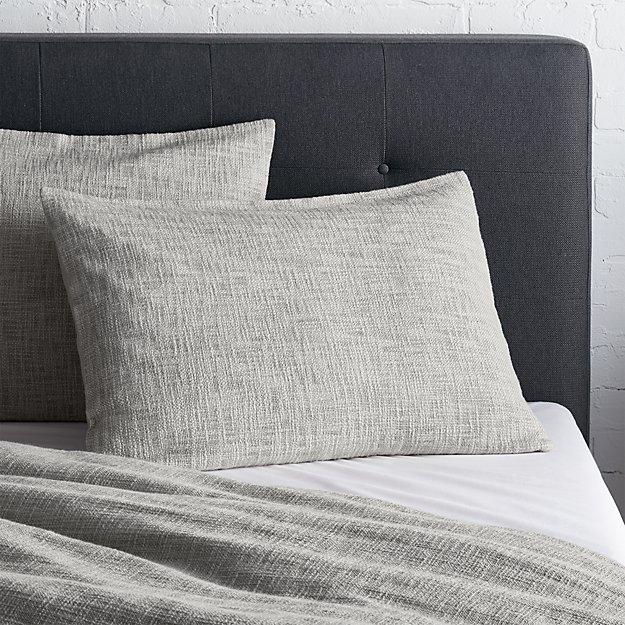 Lindstrom Grey Standard Sham - Image 1 of 12