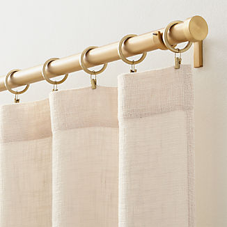 """Lindstrom Ivory 48""""x108"""" Curtain Panel"""
