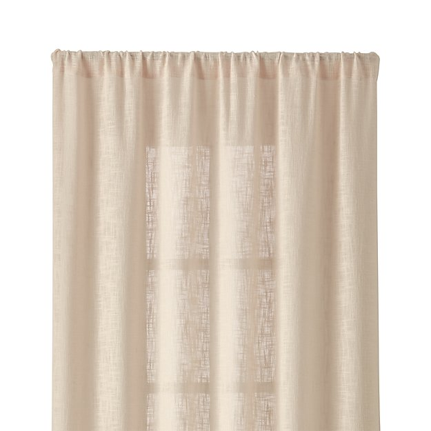 "Lindstrom Ivory 48""x84"" Curtain Panel - Image 1 of 10"
