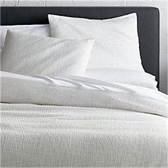 Lindstrom White Full Queen Duvet Cover