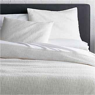 Lindstrom White Duvet Covers And Pillow Shams
