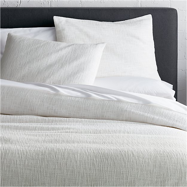 Lindstrom White King Duvet Cover - Image 1 of 12