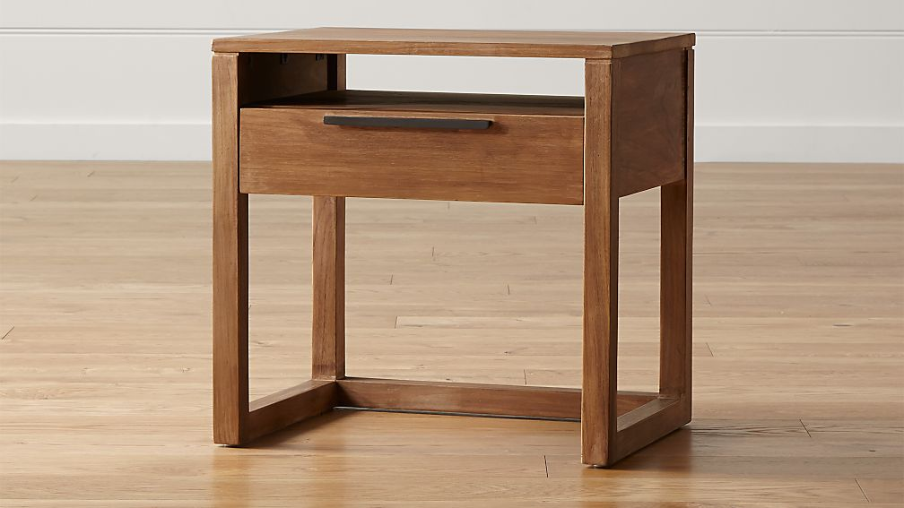 Linea II Natural Nightstand