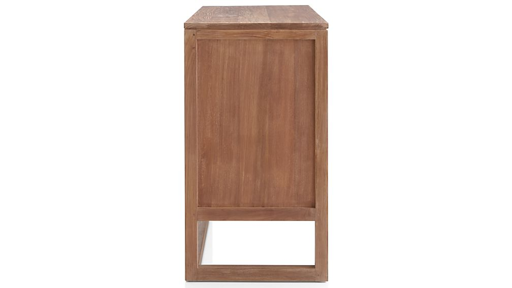 Linea II Natural Three-Drawer Chest