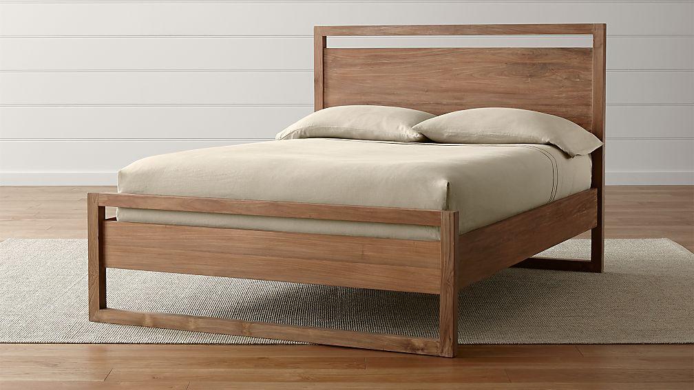 Linea II Natural Full Bed