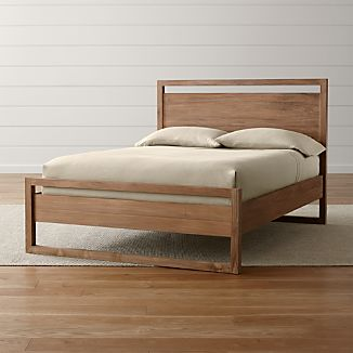 Linea II Natural Full Bed