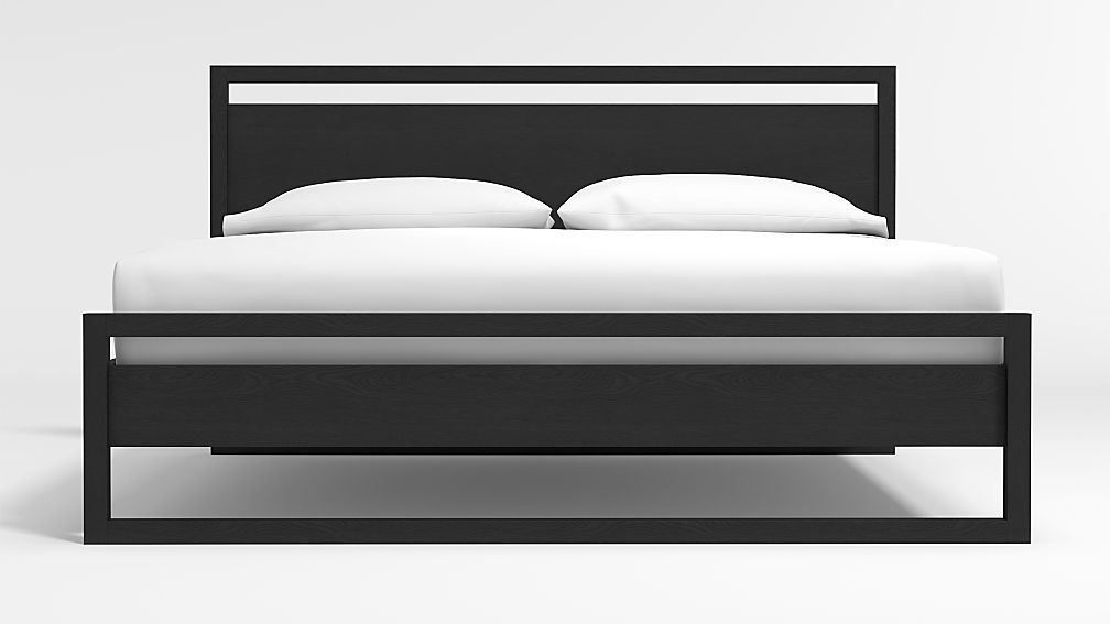 Linea Black King Bed - Image 1 of 4