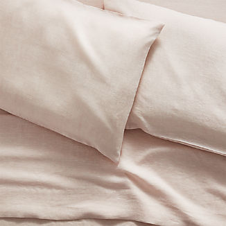 Linen Blush Sheet Sets