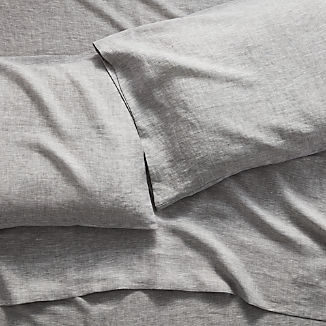 Linen Grey Sheet Sets