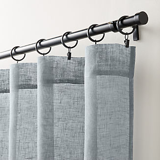 Linen Sheer Lead Curtain Panel