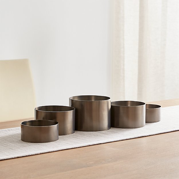 Links Pewter Centerpiece Pillar Candle Holder - Image 1 of 4