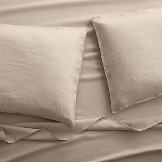 Lino II Flax Linen King Sheet Set