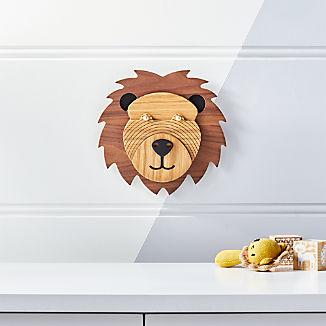 Lion Animal Head Wall Decor