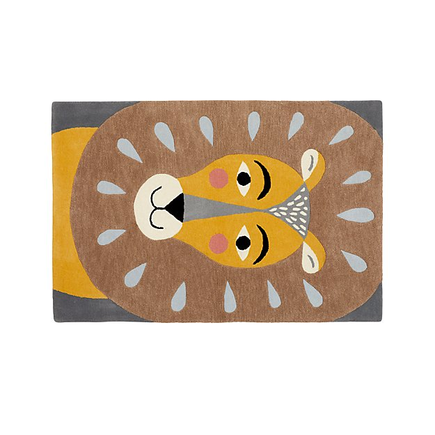 Lion 4 X 6 Rug Reviews Crate And Barrel
