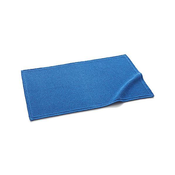 Liso Blue Bath Rug