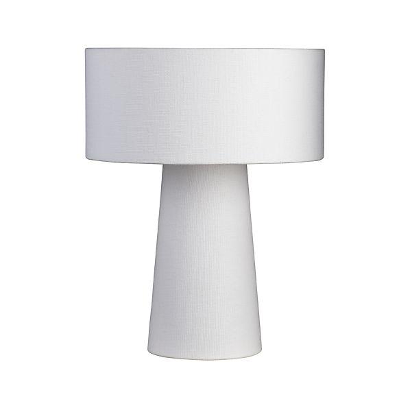 Lite White Shade Lamp