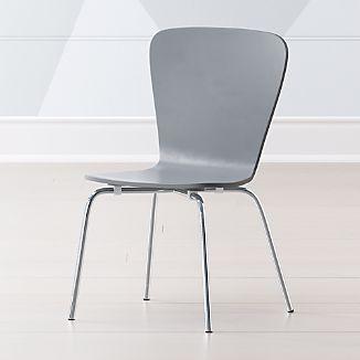 Ordinaire Little Felix Grey Kids Chair