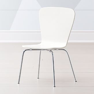 Little Felix White Kids Chair