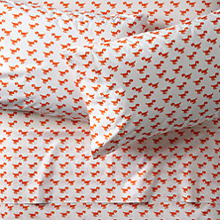 little prints orange twin quilt reviews crate and barrel