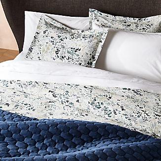 Livia Organic Botanical Duvet Covers and Pillow Shams