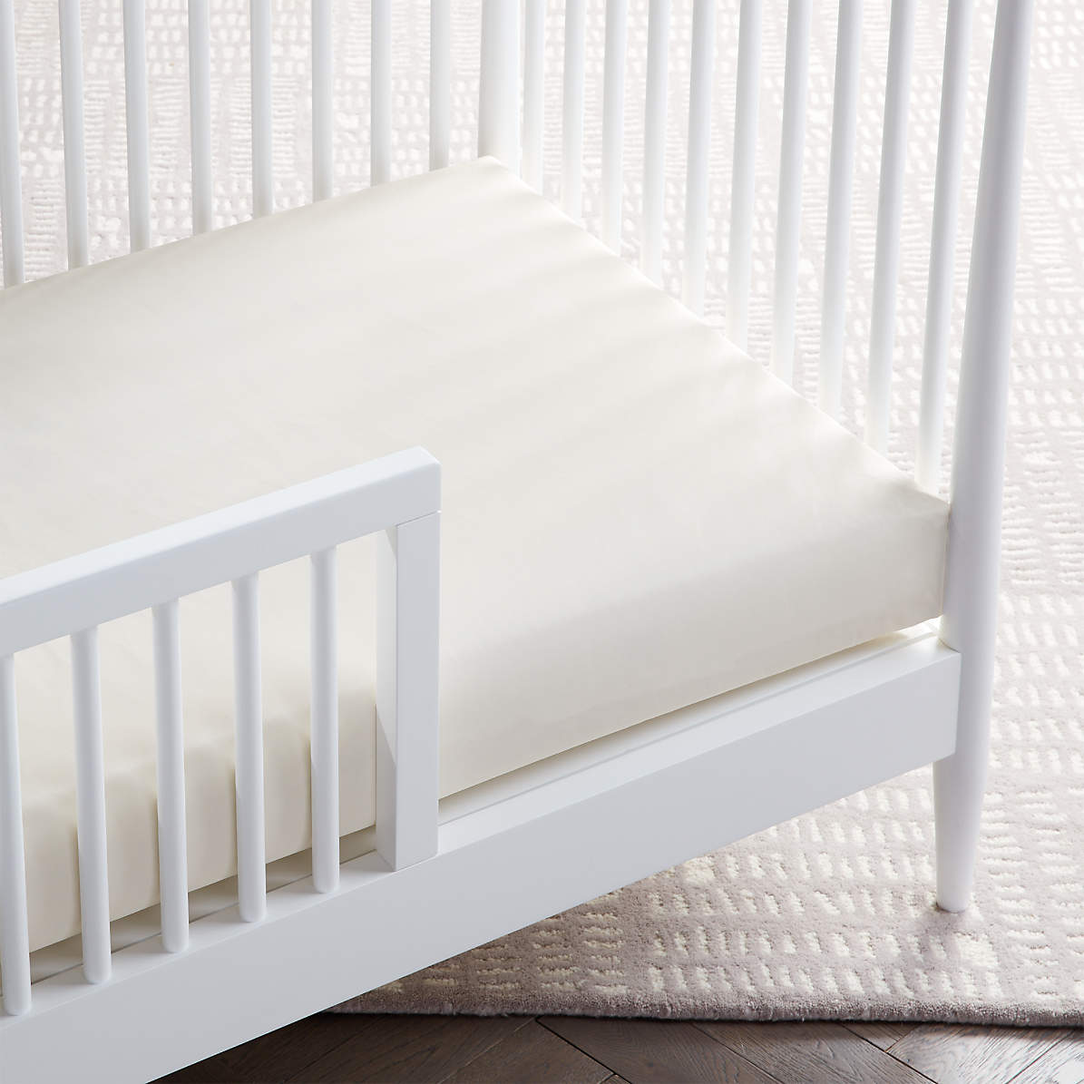 Lullaby Earth Healthy Support 2 Stage Lightweight Crib Mattress Reviews Crate And Barrel