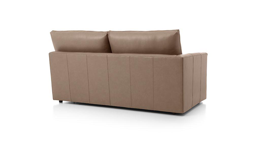 Lounge II Leather Left Arm Apartment Sofa
