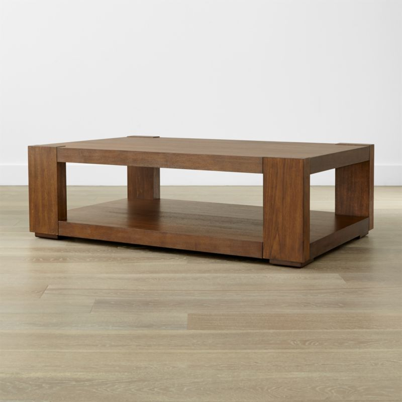 Lodge Coffee Table Reviews Crate and Barrel
