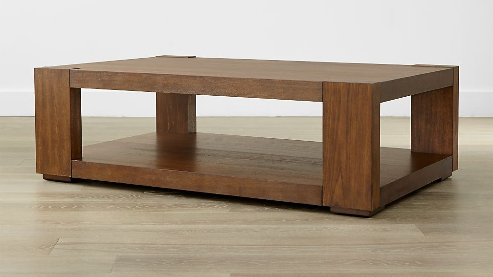 lodge coffee table reviews crate and barrel - Crate And Barrel End Tables