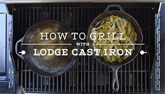 How to Grill on Cast Iron