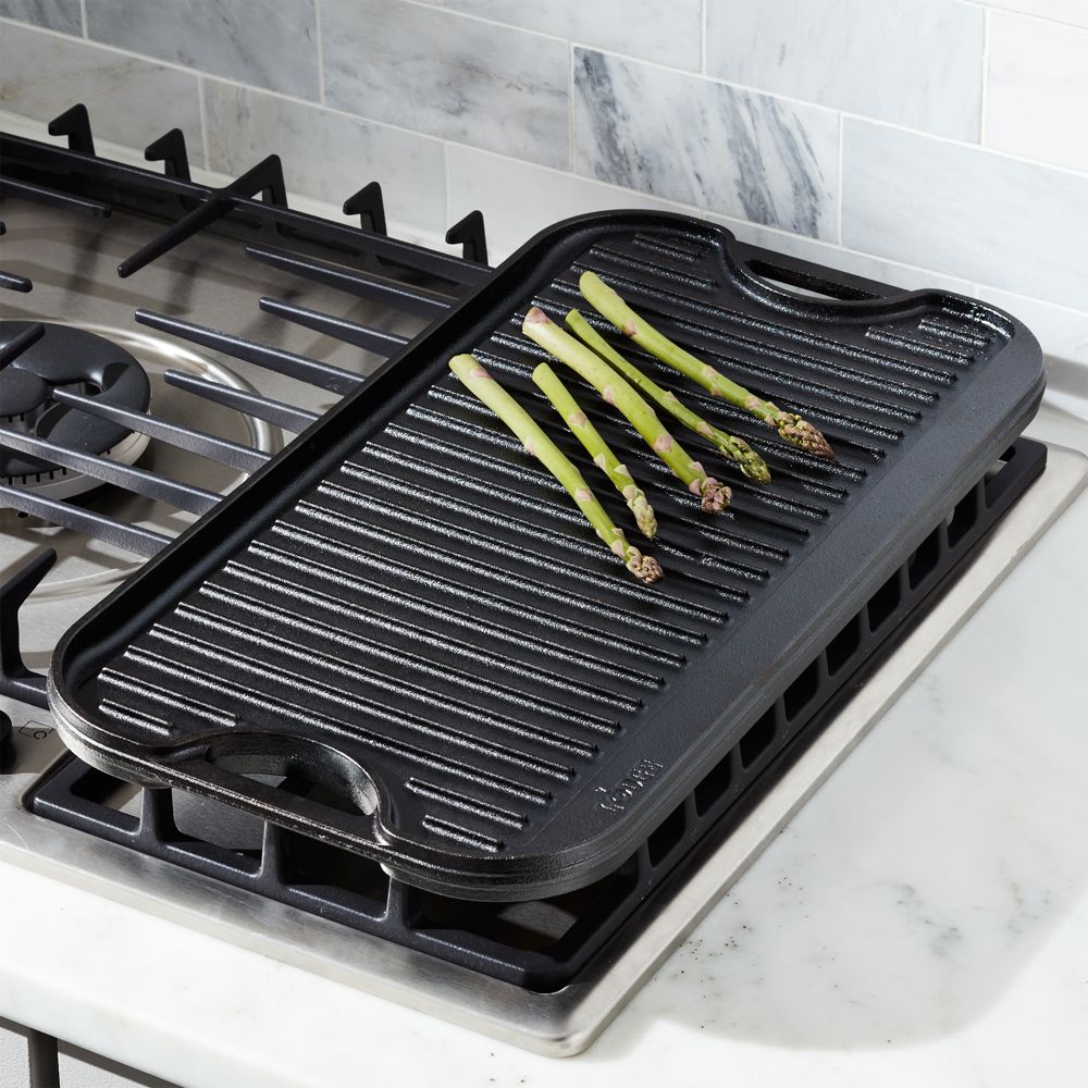 Lodge ® Reversible Griddle - Crate and Barrel