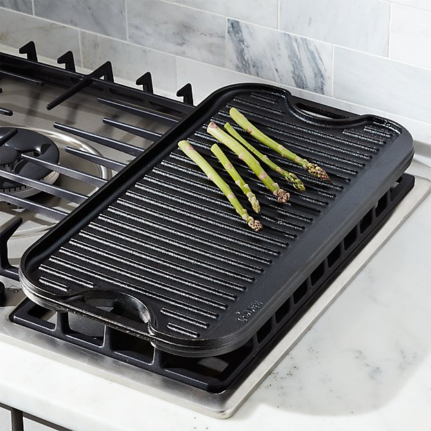 Lodge Reversible Griddle Reviews Crate And Barrel