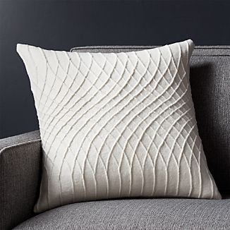 "Lokima 18"" Pillow with Down-Alternative Insert"