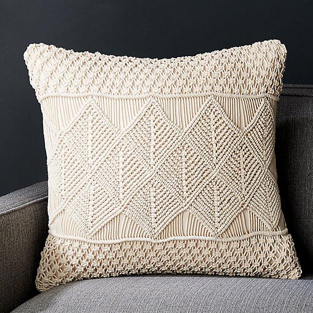 Washing Down Decorative Pillows : Lola 20