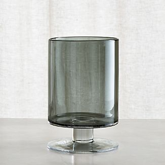 London Small Smoke Hurricane Candle Holder