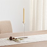 London Glass  Medium Taper Candle Holder
