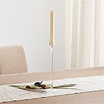 London Glass Tall Taper Candle Holder