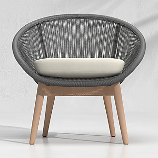 Loon Black Outdoor Lounge Chair