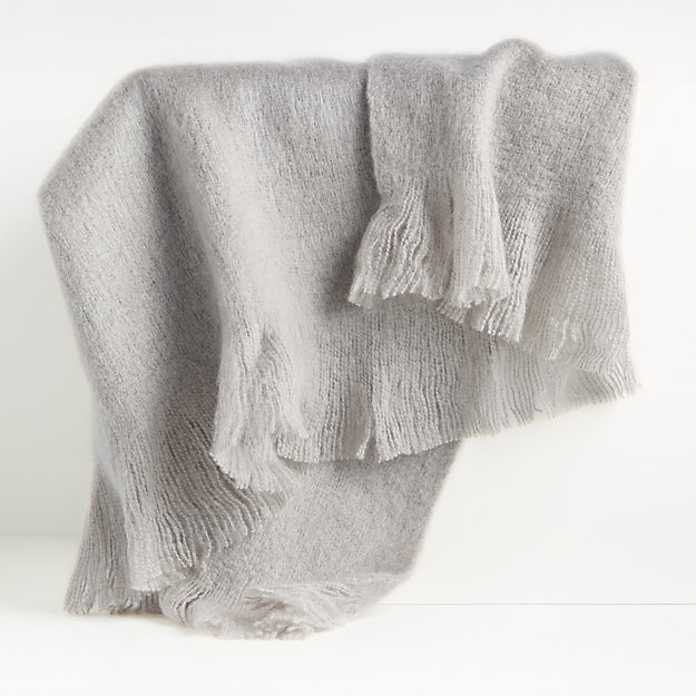Loren Grey Soft Throw Blanket - Image 1 of 4