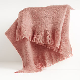 Loren Rose Soft Throw Blanket