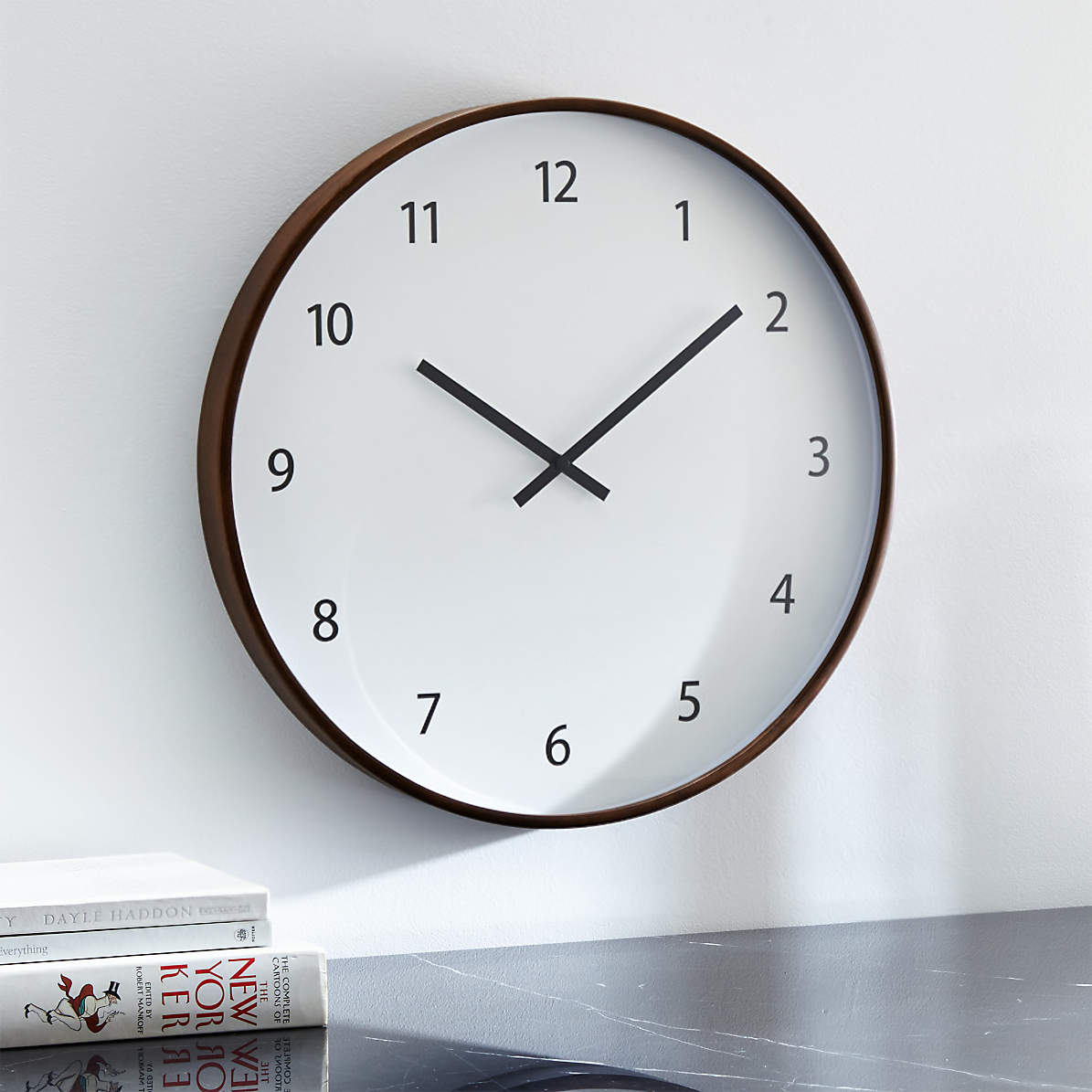 Lorne Large Wall Clock Reviews Crate And Barrel Canada