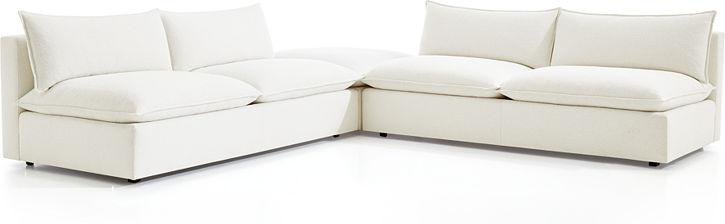 Lotus Modular Sectional Sofas | Crate and Barrel