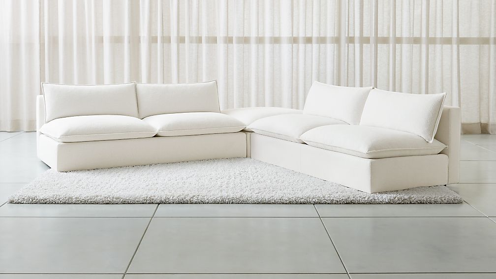 Lotus Modular 3-Piece Low Sectional - Image 1 of 6