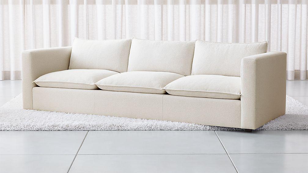 """Lotus 109"""" Low Grande Sofa - Image 1 of 6"""