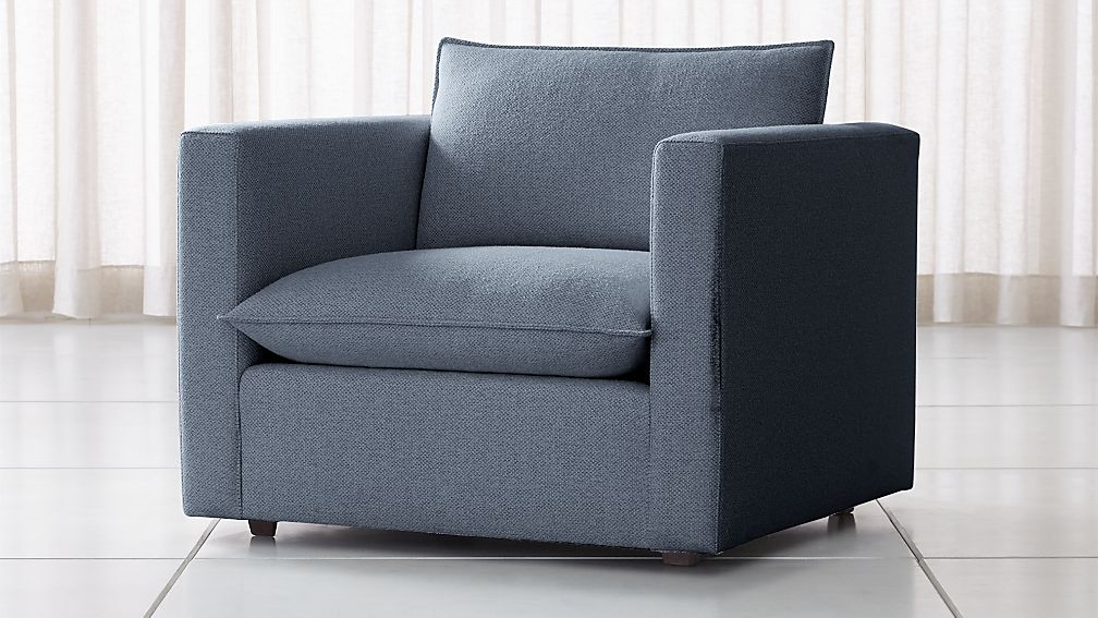 Lotus Petite Low Chair And A Half Reviews Crate And Barrel