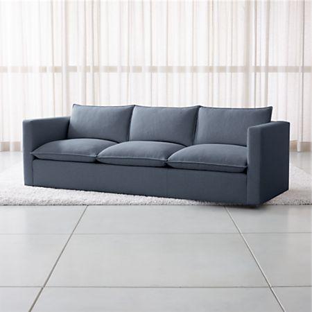 Terrific Lotus Petite 101 Low Grande Sofa Crate And Barrel Andrewgaddart Wooden Chair Designs For Living Room Andrewgaddartcom
