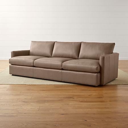 Astounding Lounge Ii Petite Leather 3 Seat 105 Grande Sofa Spiritservingveterans Wood Chair Design Ideas Spiritservingveteransorg