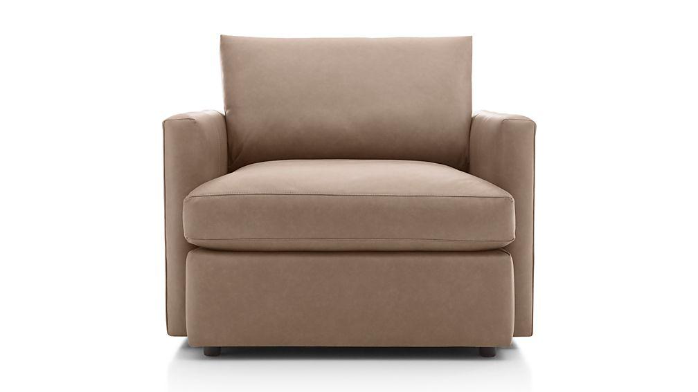 Lounge II Petite Leather Chair