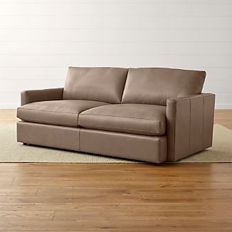 "Lounge II Leather 83"" Sofa"