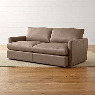 "Lounge II Petite Leather 83"" Sofa"
